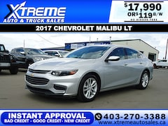 2017 Chevrolet Malibu LT w/WiFi Hotspot+Backup Camera Sedan