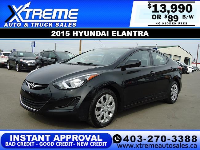 2015 Hyundai Elantra GL Sedan