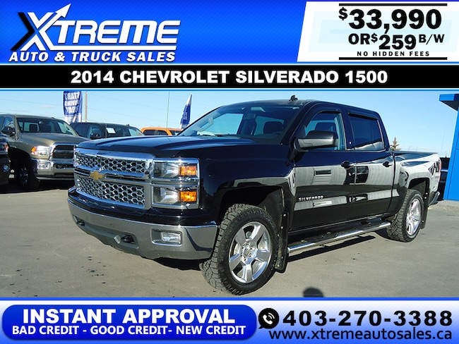 2014 Chevrolet Silverado 1500 2LT w/Leather+Backup Camera Truck Crew Cab