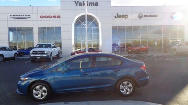 Used 2015 Honda Civic LX Sedan in Yakima, WA