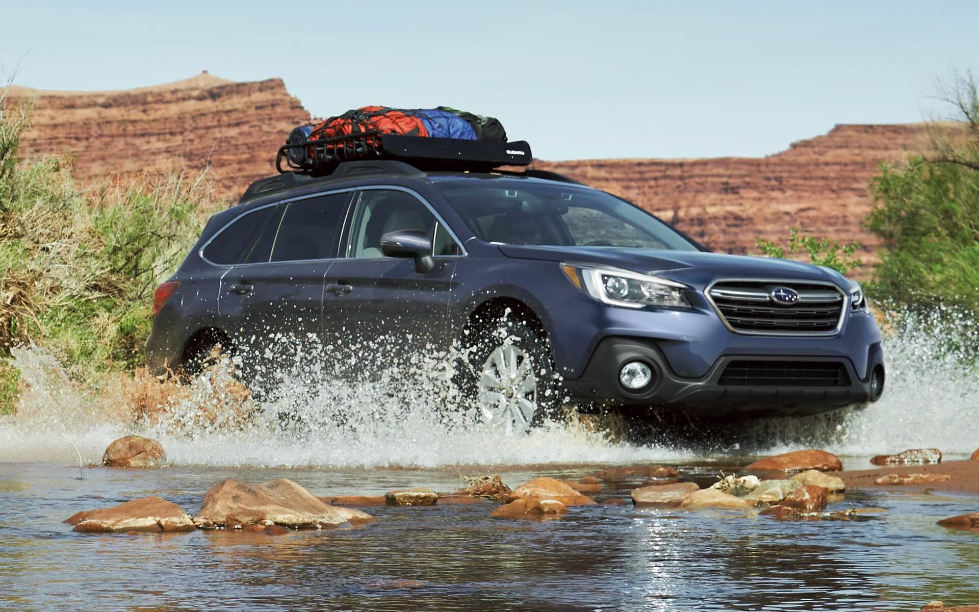 2018 Suburu Outback Front Exterior Off-Road