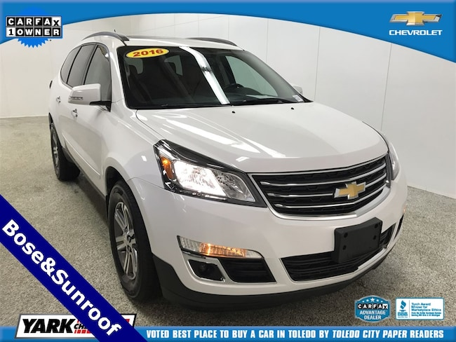 2016 Chevrolet Traverse 2LT w/Sunroof & Bose Audio SUV