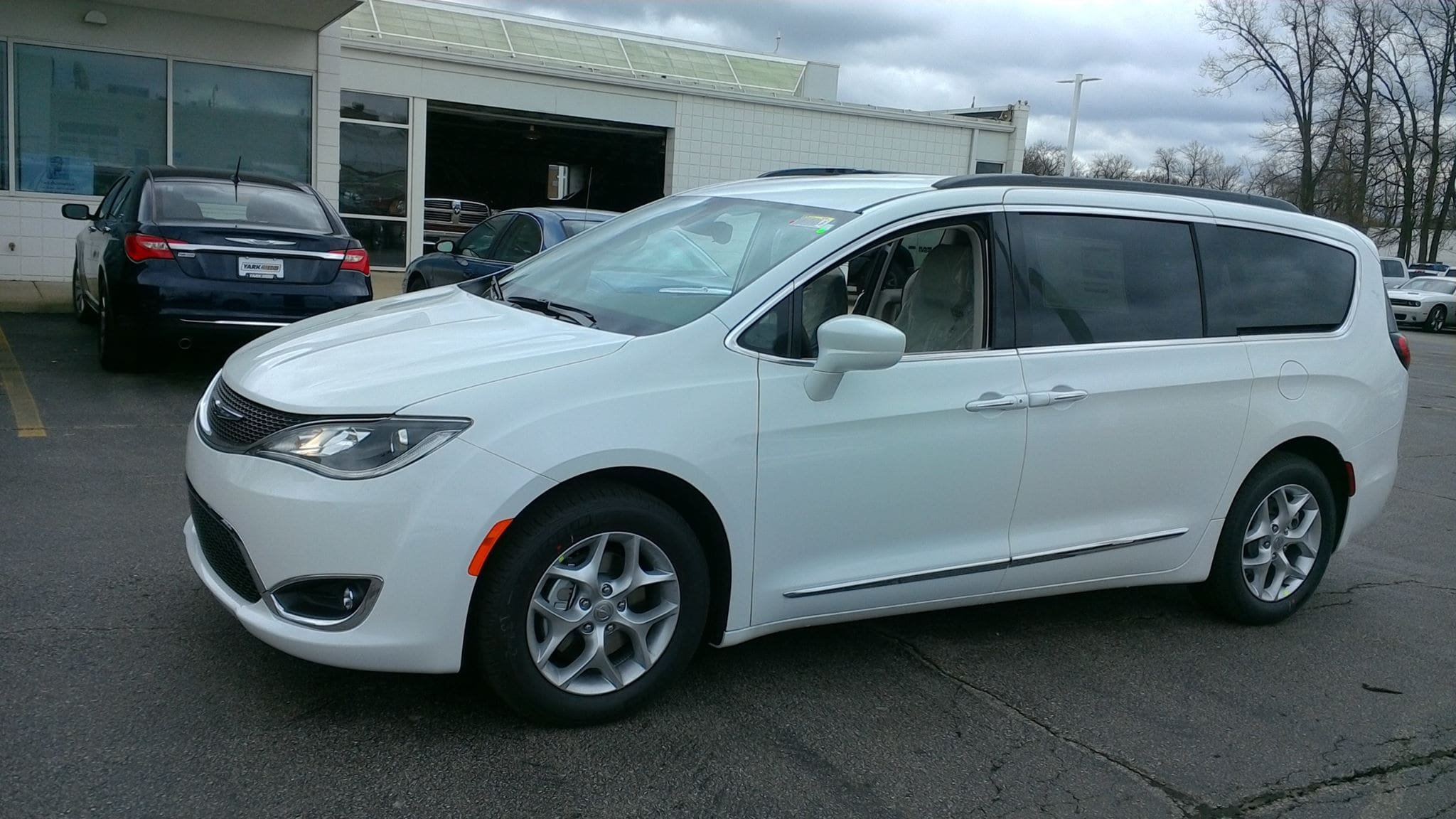 2017 Chrysler Pacifica Now Available at Yark in Toledo