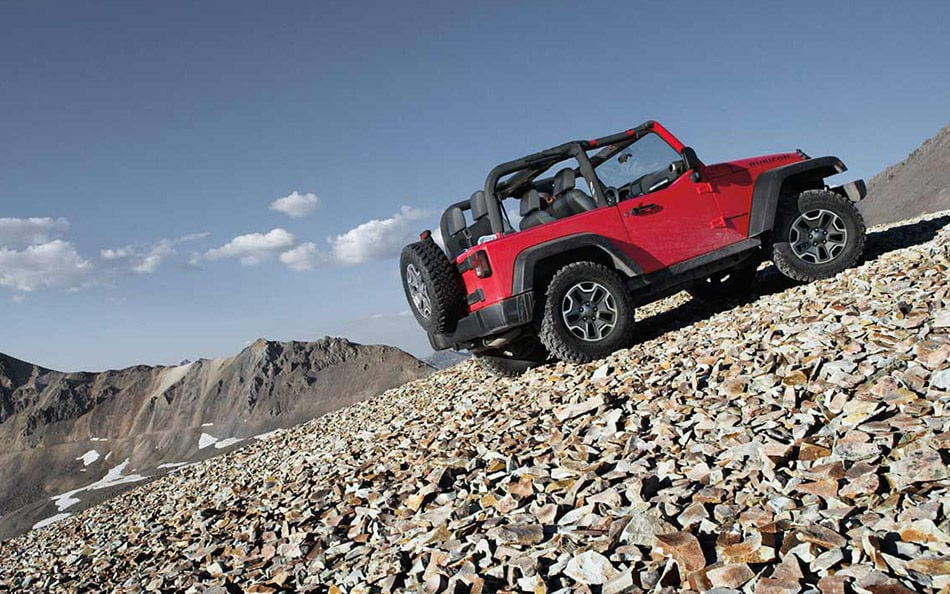 2016 Jeep Wrangler Rugged Exterior