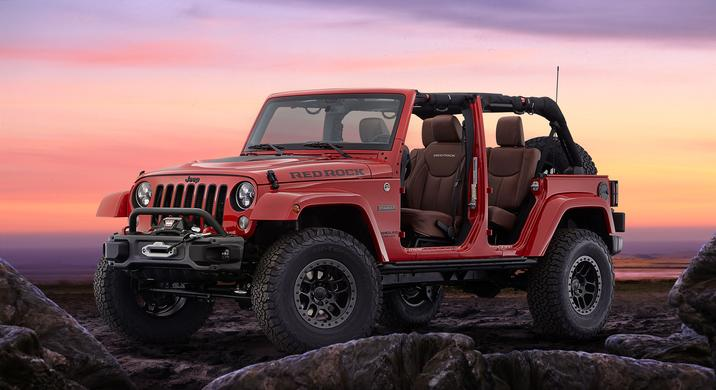 Jeep Wrangler Red Rock Concept Exterior