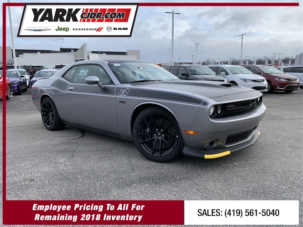 New 2018 dodge challenger auto for sale in toledo oh vin 2c3cdzfj7jh111197