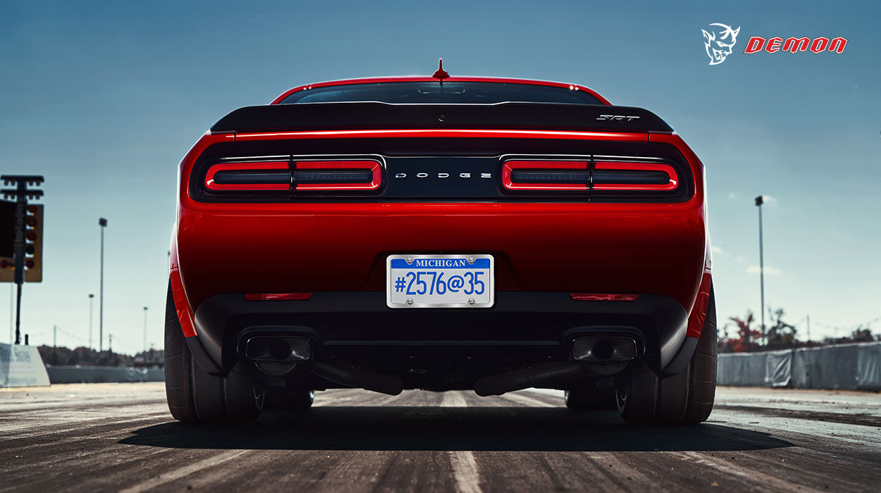 Dodge Challenger Demon Rear