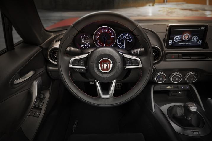 2017 FIAT 124 Spider Elaborazione Abarth Premium Interior