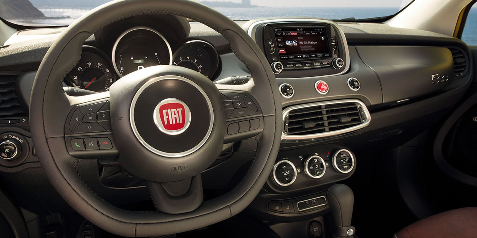 2017 Fiat 500X with Uconnect