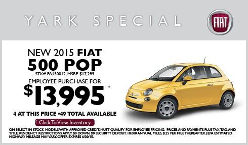Yark FIAT | New FIAT dealership in Toledo, OH 43615