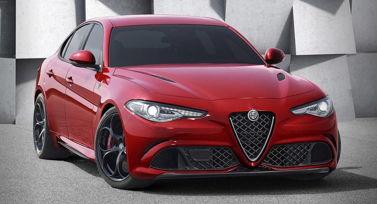 2016 Alfa Romeo Giulia Front