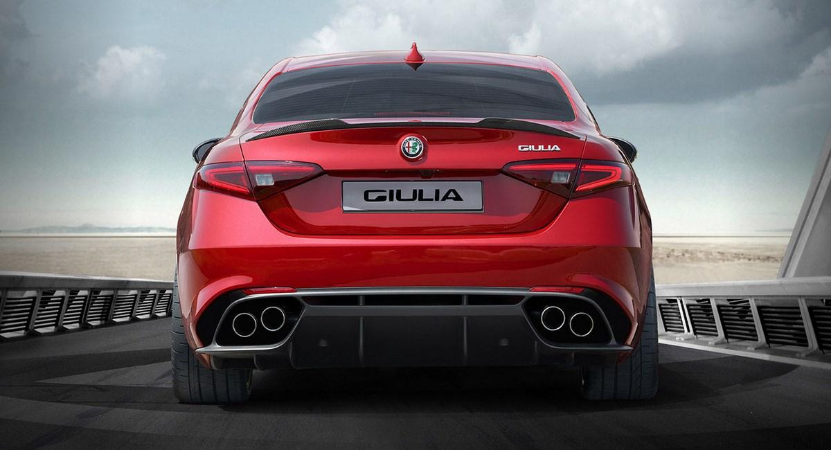 2016 Alfa Romeo Giulia Rear