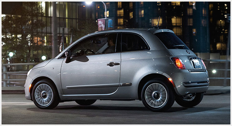 Fiat 500 Lounge Side Exterior Gray