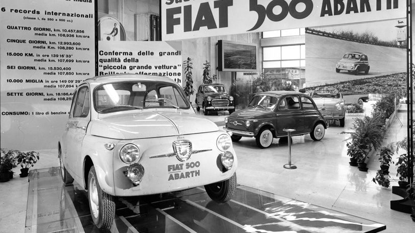 Fiat 500 Abarth History