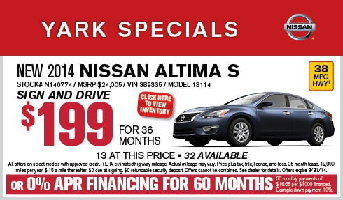 Yark Nissan | New Nissan dealership in Toledo, OH 43615