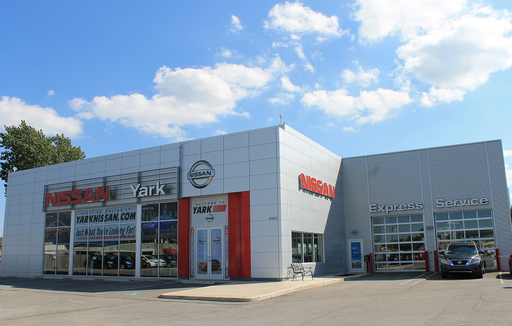 Visit Yark Nissan for a Car Loan or Lease today!