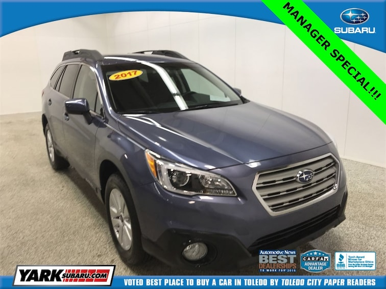 Used 2017 Subaru Outback 2 5i Premium For Sale In Toledo Oh