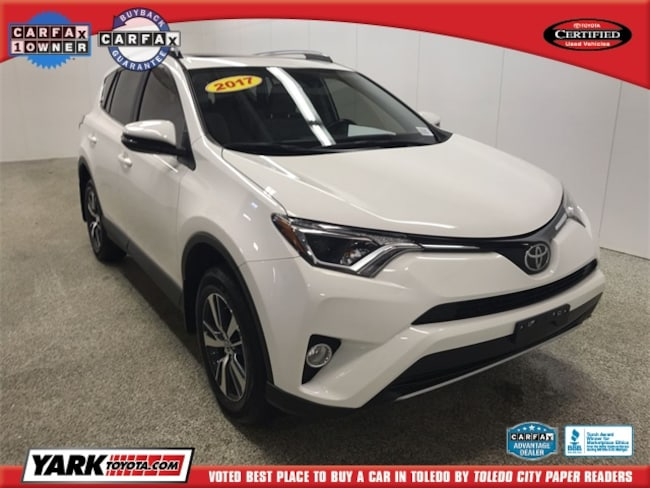 Used 2017 Toyota RAV4 XLE SUV in Maumee, OH