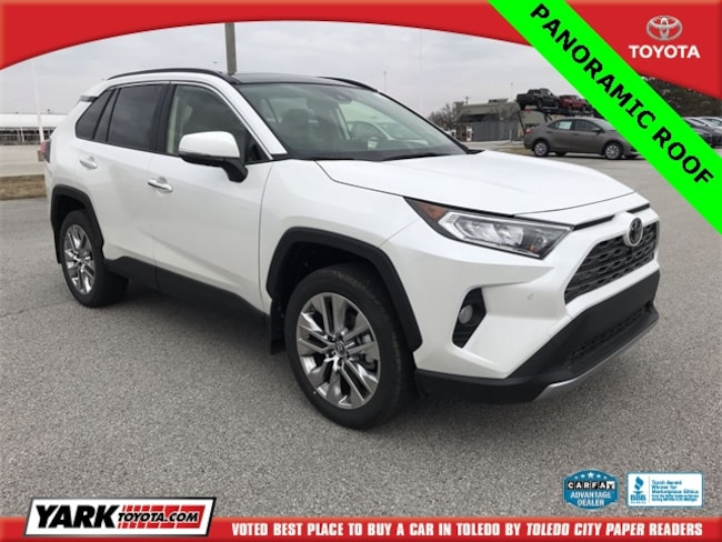 New 2019 Toyota RAV4 Limited SUV in Maumee, OH