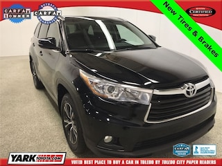 Used 2016 Toyota Highlander XLE V6 SUV in Maumee, OH