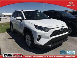 New 2019 Toyota RAV4 Hybrid XLE SUV in Maumee