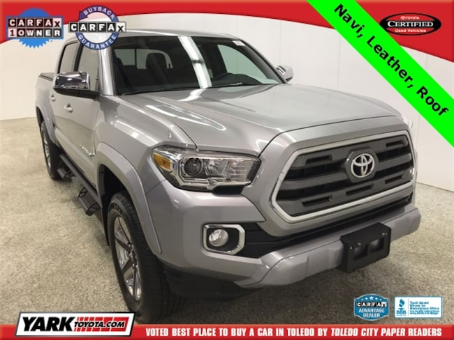 Used 2017 Toyota Tacoma Limited V6 Truck in Maumee, OH