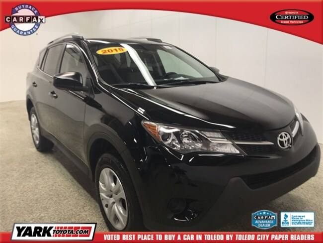 Used 2015 Toyota RAV4 LE SUV in Maumee, OH
