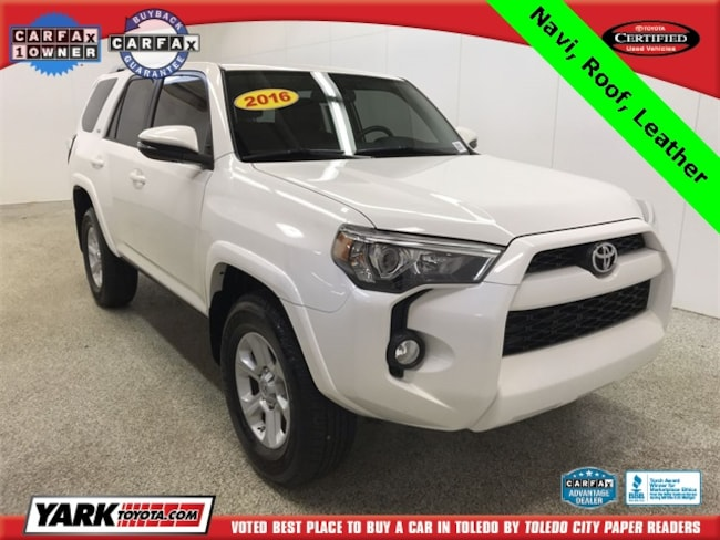 Used 2016 Toyota 4Runner SR5 Premium SUV in Maumee, OH