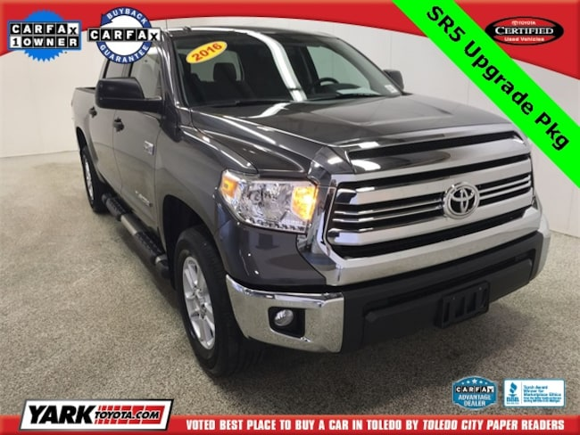 Used 2016 Toyota Tundra SR5 Crewmax Truck in Maumee, OH