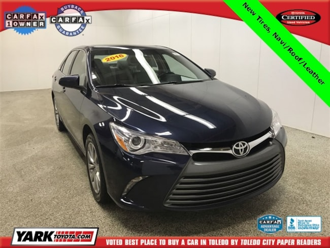 Used 2016 Toyota Camry XLE Sedan in Maumee, OH