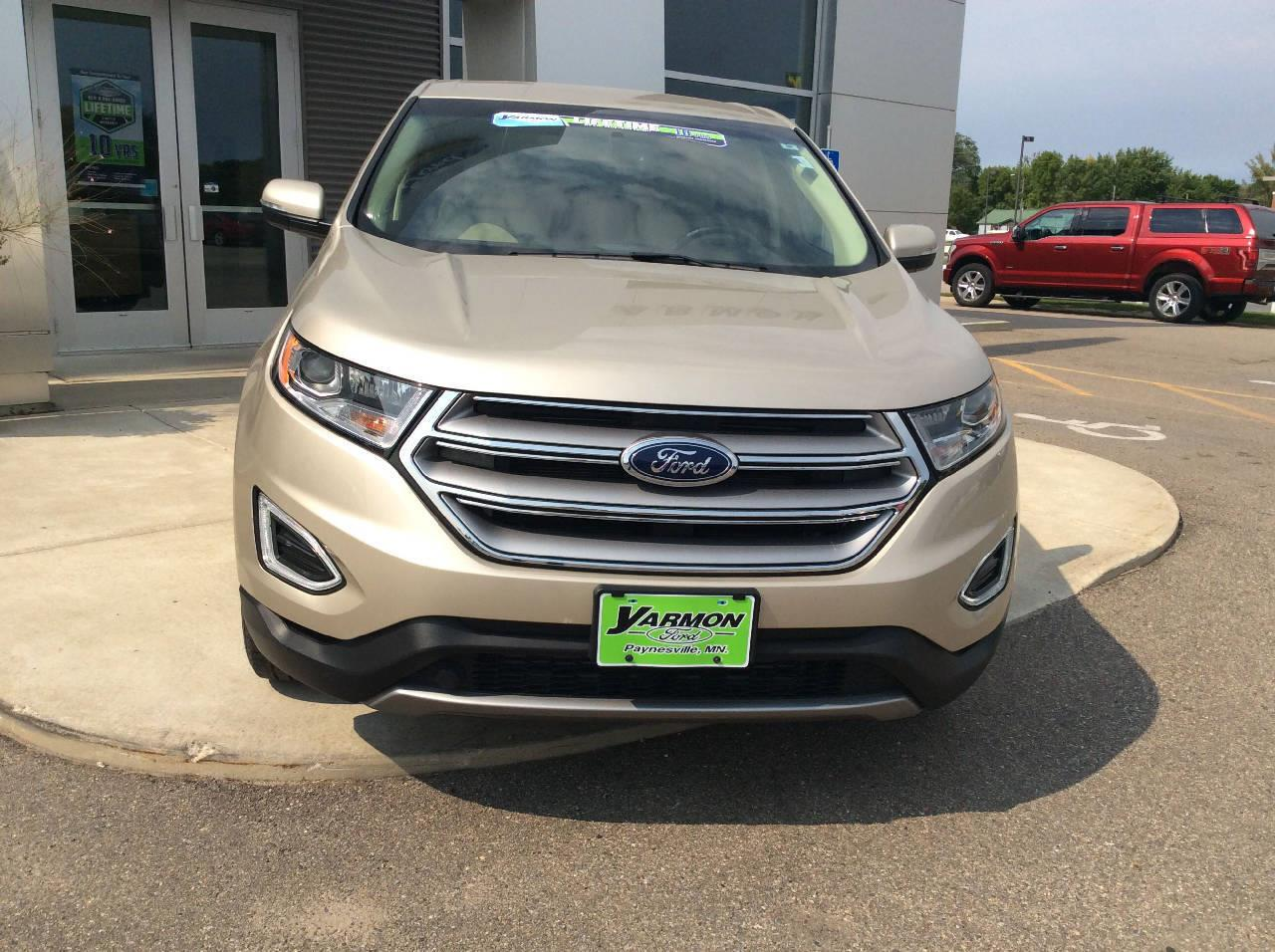 Used 2018 Ford Edge SEL with VIN 2FMPK3J98JBC01020 for sale in Paynesville, Minnesota
