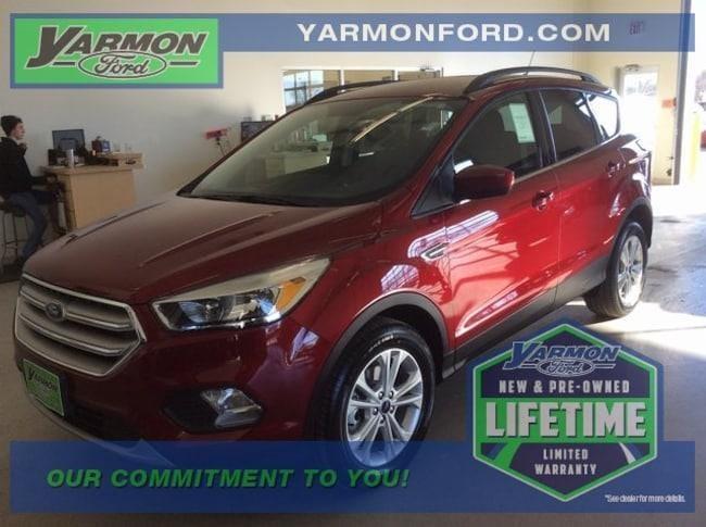 new 2018 Ford Escape SE SUV for sale in Cold Spring MN