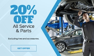 20% Off All Service & Parts