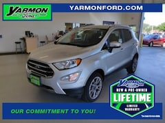 new 2018 Ford EcoSport Titanium SUV for sale in Cold Spring MN