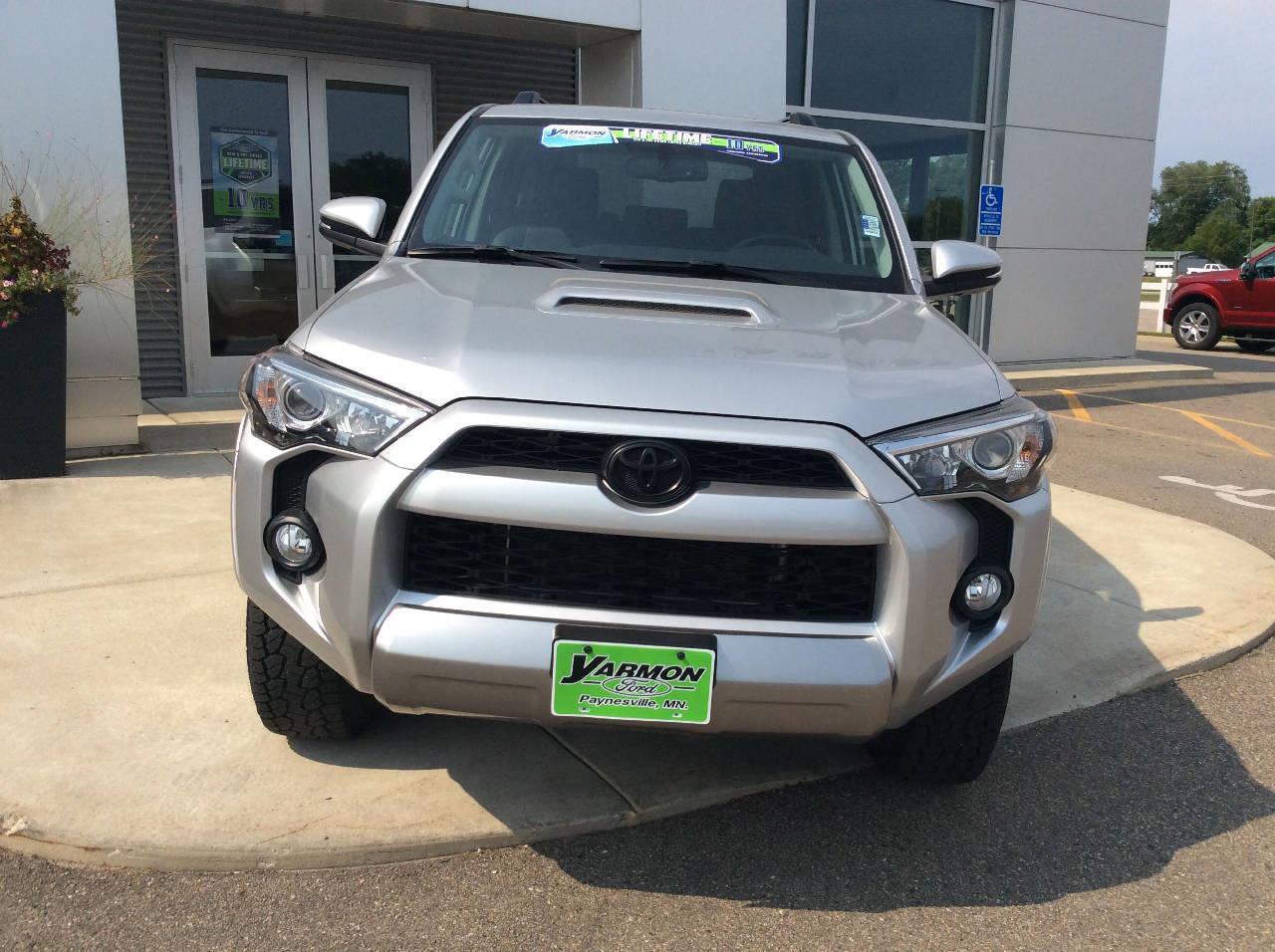Used 2019 Toyota 4Runner Off-Road Premium with VIN JTEBU5JR4K5636915 for sale in Paynesville, Minnesota