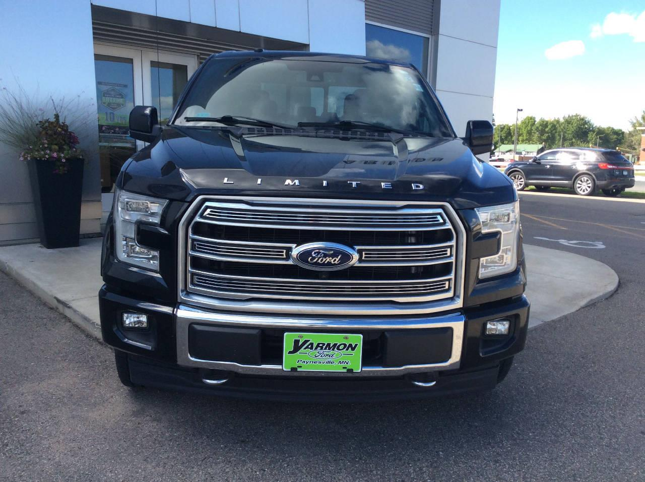 Used 2017 Ford F-150 Limited with VIN 1FTEW1EG3HFC89903 for sale in Paynesville, Minnesota