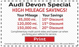 Audi Devon Special