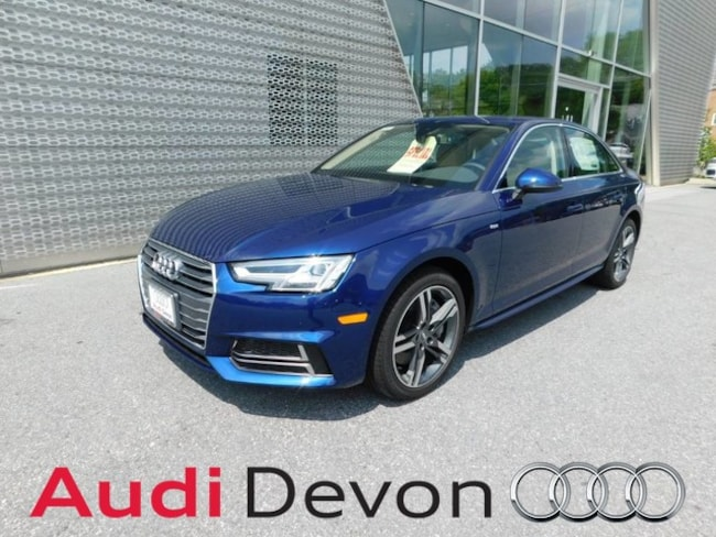 New 2018 Audi A4 2.0T Premium Sedan in Devon, PA