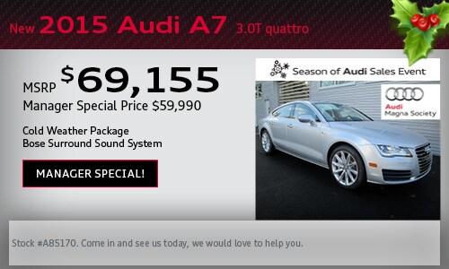 2015 Audi Model Year End Sale! | Audi Devon