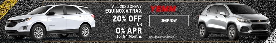 20% Off Equinox & Trax