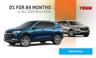 0% for 84 Months Buick SUVs