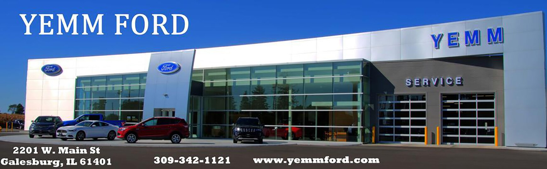 yemm ford ford dealership in galesburg il. Black Bedroom Furniture Sets. Home Design Ideas