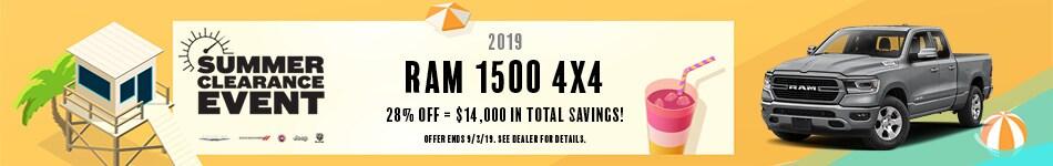 2019 Ram 1500 4x4