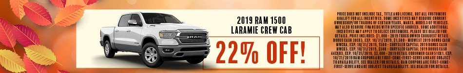 2019 RAM 1500 Lamarie Crew Cab