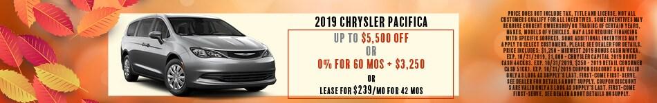 2019 Chrystler Pacifica