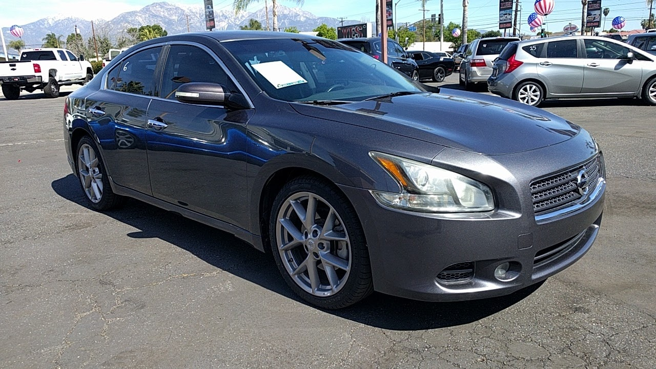 2011 nissan maxima 3 5 sv cars and vehicles montclair ca. Black Bedroom Furniture Sets. Home Design Ideas