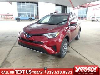 New 2018 Toyota RAV4 Hybrid LE SUV in Shreveport near Texarkana