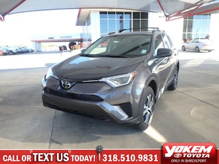 New 2018 Toyota RAV4 LE SUV in Shreveport near Texarkana