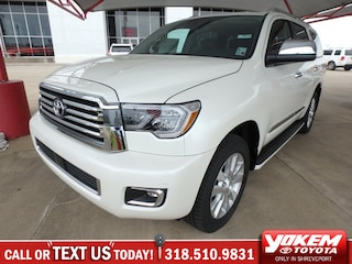 New 2018 Toyota Sequoia Platinum SUV in Shreveport near Texarkana