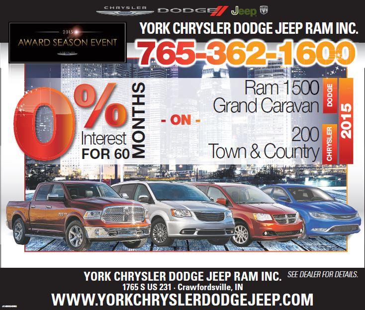 Chrysler Dodge, Jeep RAM Dealer Lafayette, Brownsburg